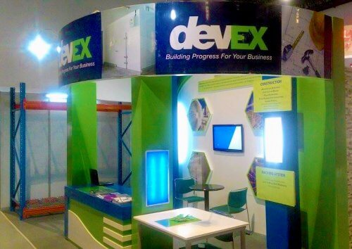 Philconstruction 2015 Devex booth