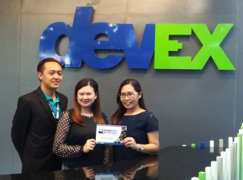 Devex signs with Transport and Logistics