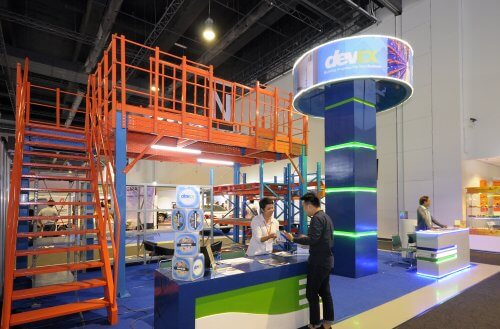 Devex booth