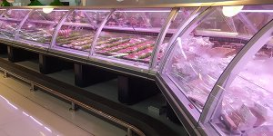 closed-type refrigerated display