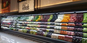 Open type refrigerated display